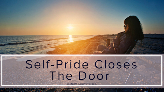 Dr. Ernest Pecci Says | Self-Pride Closes the Door